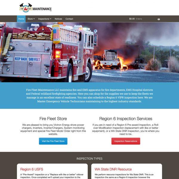 Firefleet Maintenance LLC Website