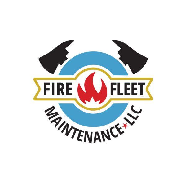 Firefleet Maintenance LLC Horizontal Logo