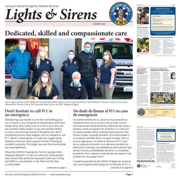 San Juan Island EMS Newsletter