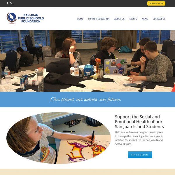 San Juan Public Schools Foundation Website